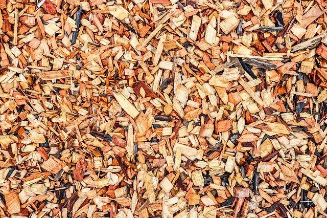 dřevěné odštěpky