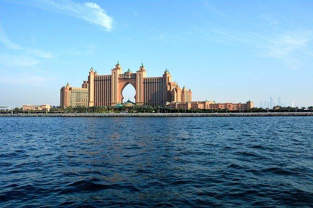 záliv v Dubaji