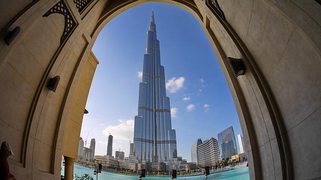 panorama Dubaje