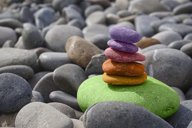 barevné kameny