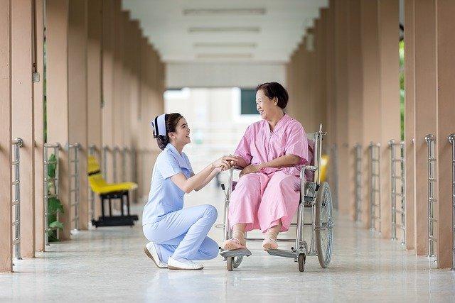 pomoc pacientce