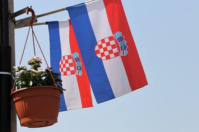 chorvatské vlajky