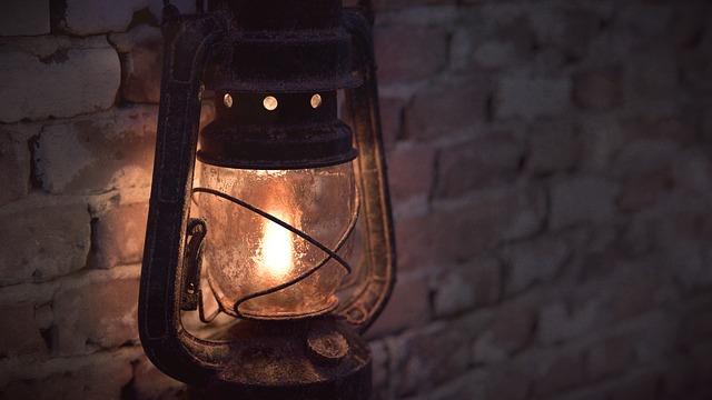 starší lampa